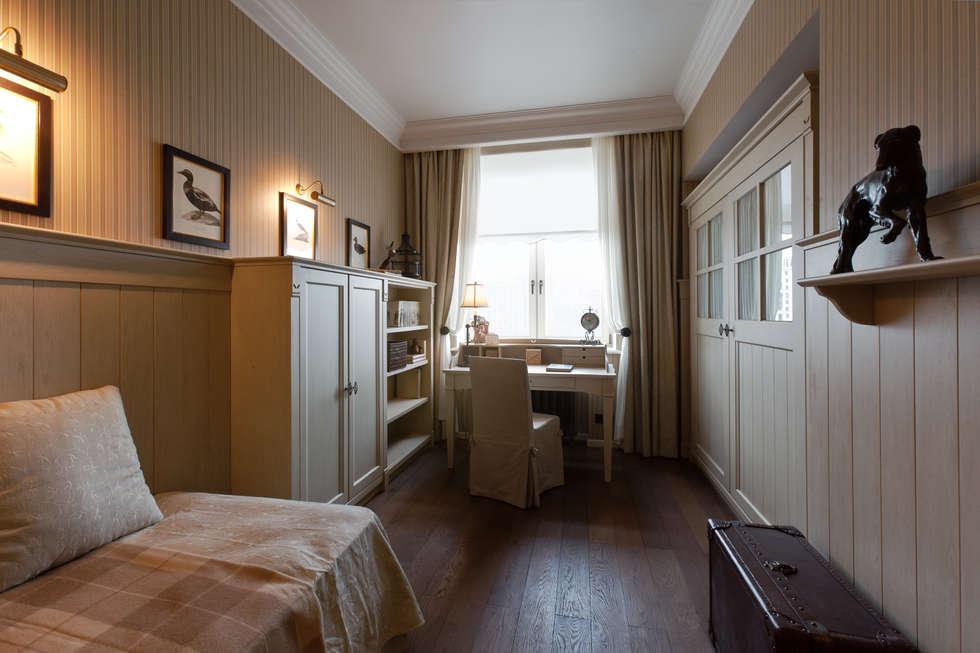 The apartment in Moscow 01: Chambre d'enfant de style de style Classique par Petr Kozeykin Designs LLC, 'PS Pierreswatch'