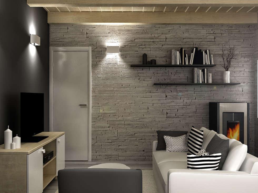 Soggiorno_Luigia Pace per InteriorBE: Soggiorno in stile in stile Moderno di redesign lab