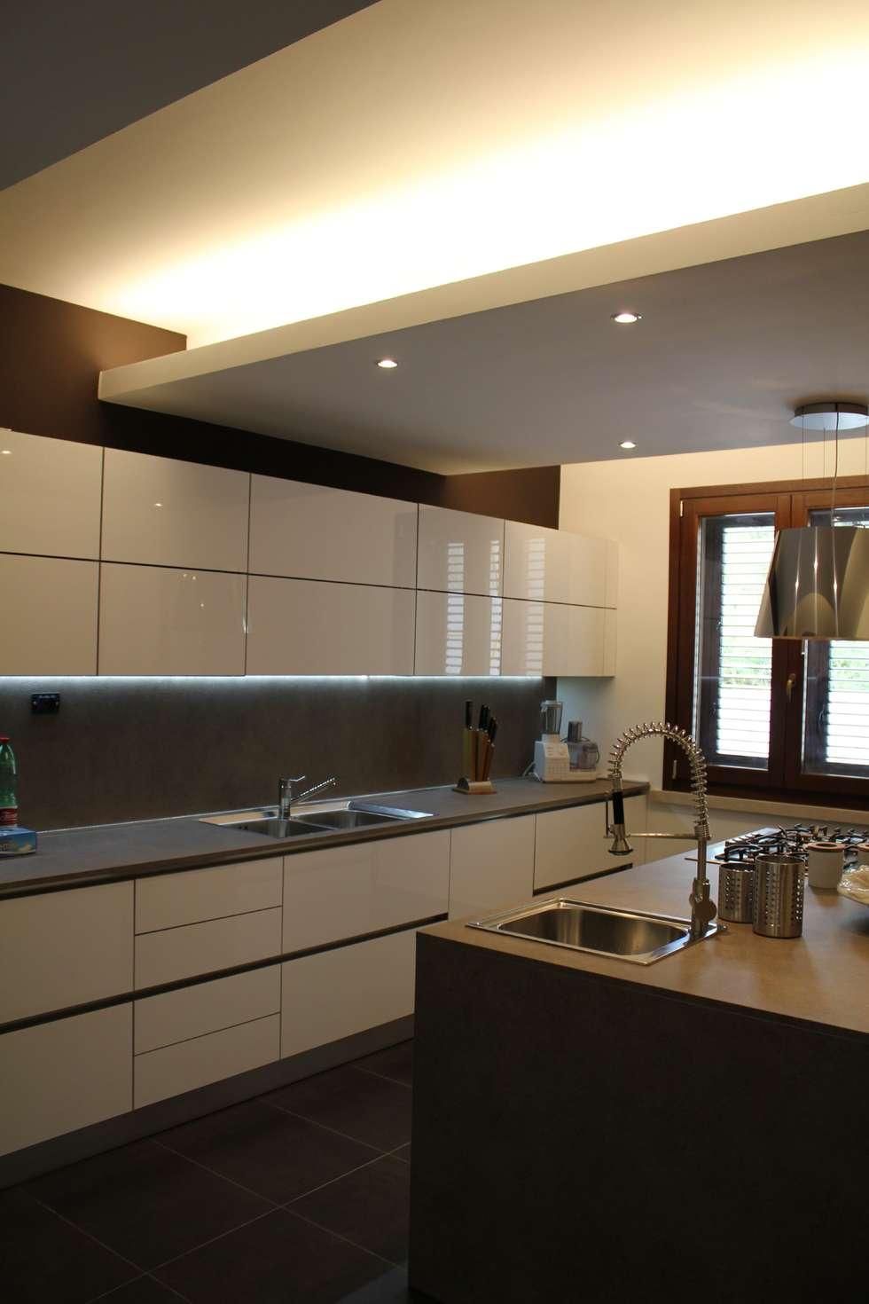 Piano lavoro in cucina: Cucina in stile in stile Moderno di Giuseppe Rappa & Angelo M. Castiglione