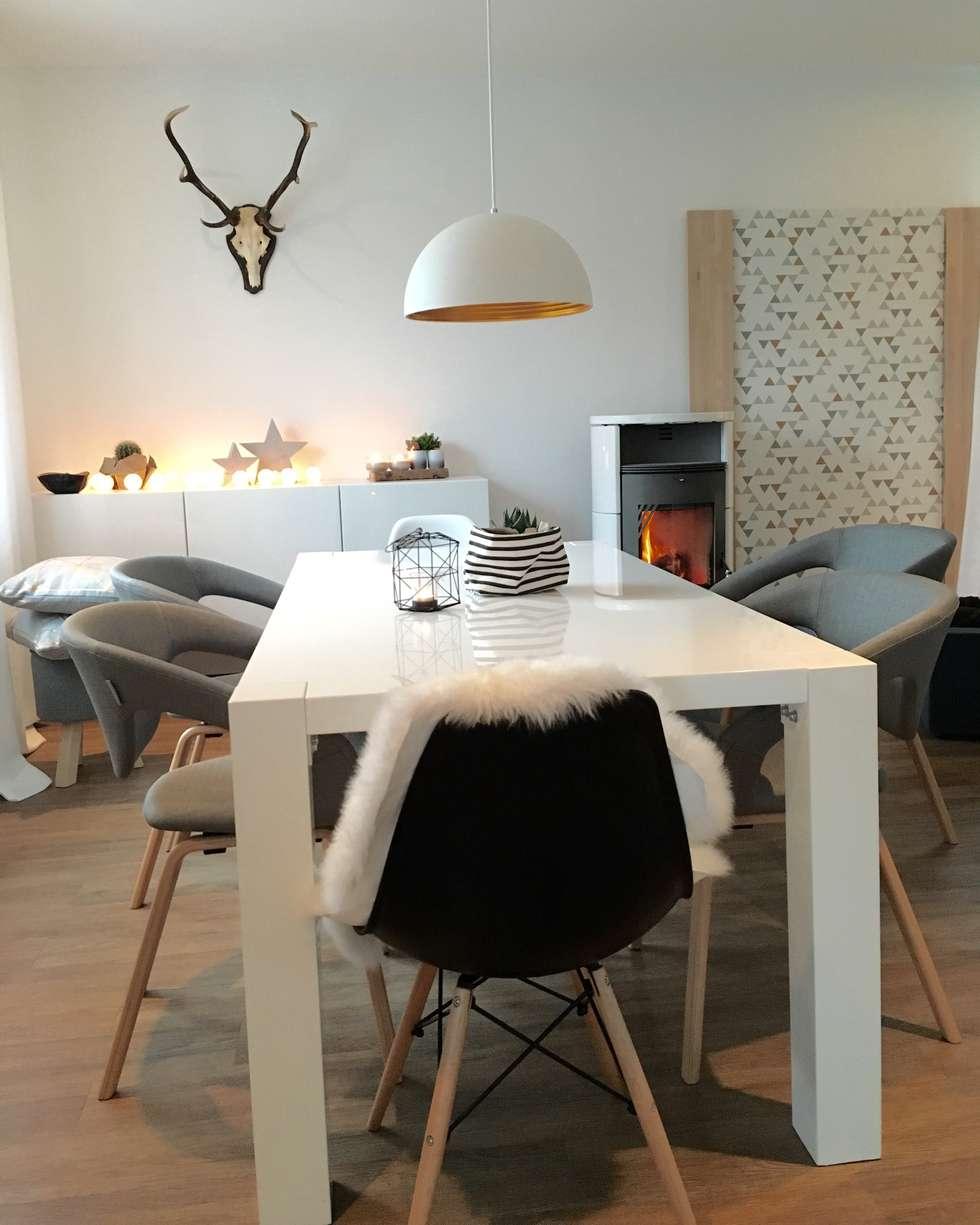 Großartig Schöne Einrichtung Das Beste Von Eine Schöne Moderne Einrichtung!: Skandinavische Esszimmer Von