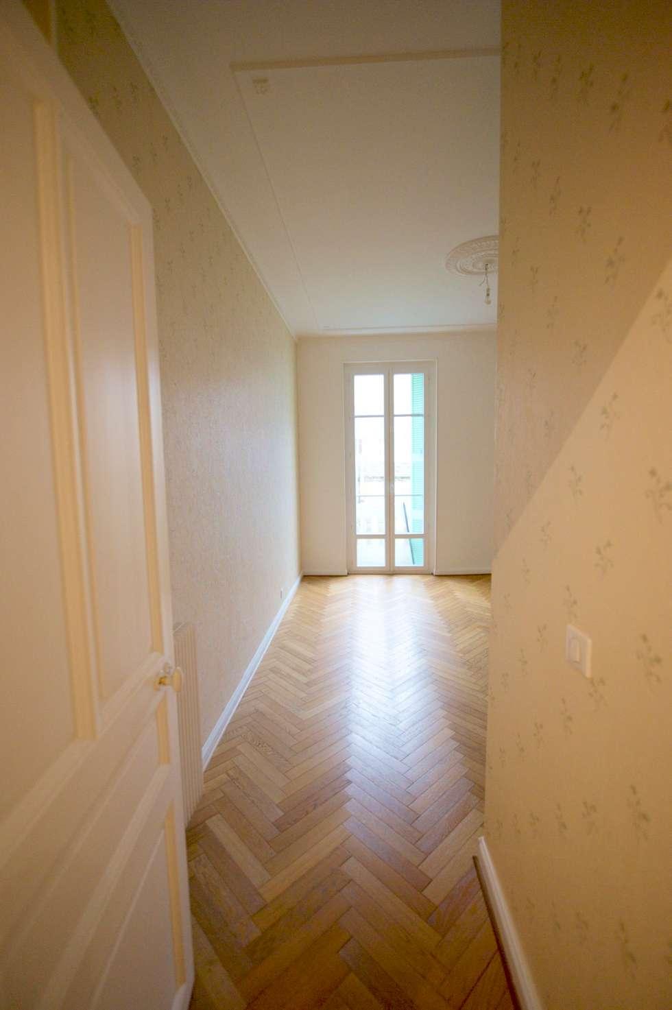 Appartement classique Nice 150m2: Chambre de style de style Classique par Blue Interior Design