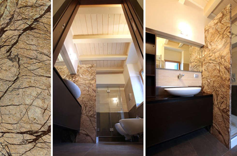 Bagni Moderni Piccoli Spazi : Appartamento dc u riqualificazione architettonica di piccoli spazi