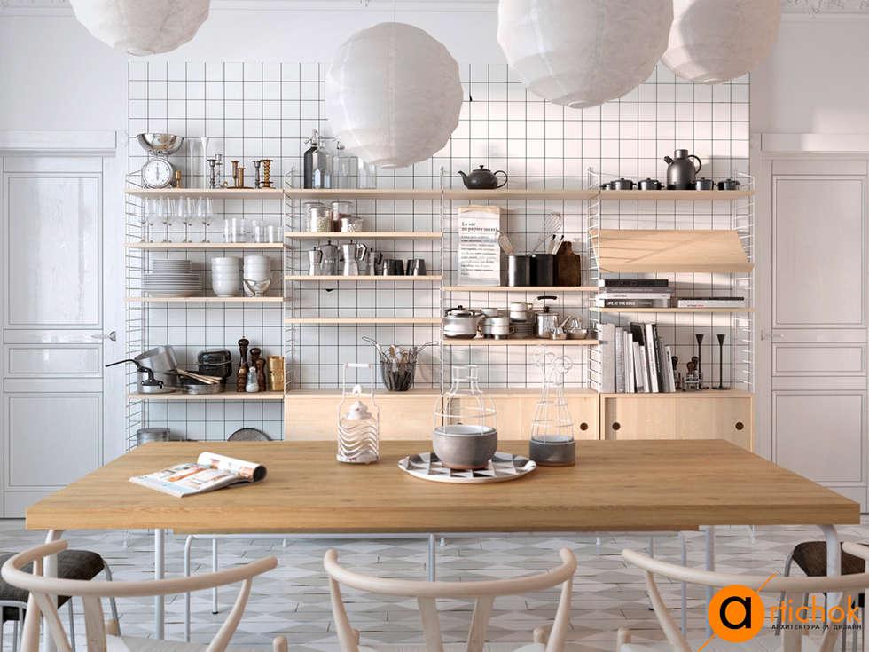 Projekty,  Kuchnia zaprojektowane przez Art-i-Chok