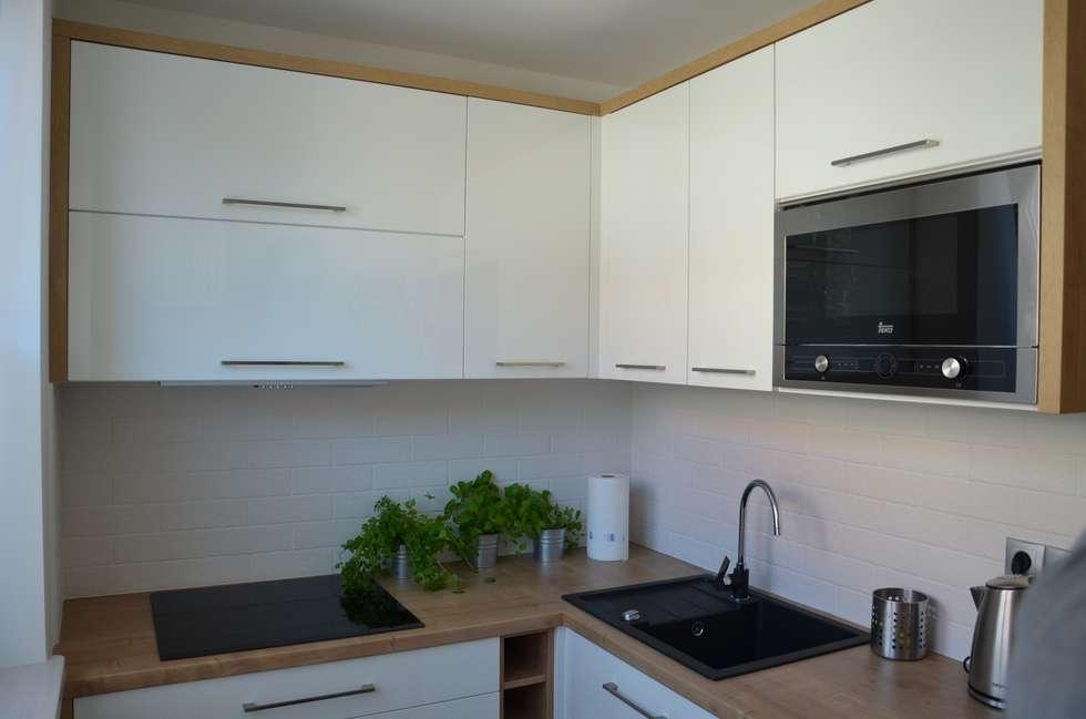 Zdjęcia kuchnia, mieszkanie pod krótkoterminowy wynajem gdańsk stare miasto