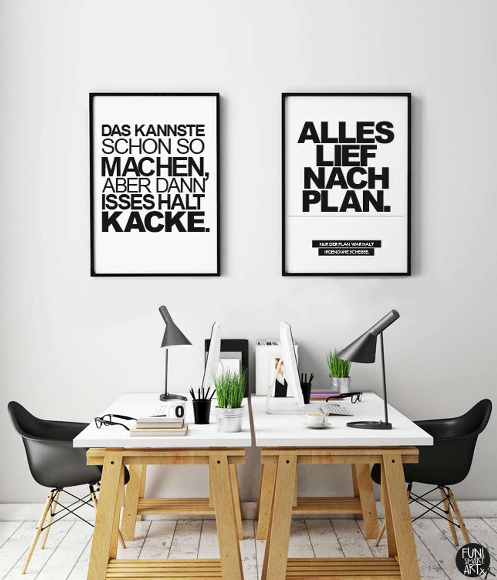 Großartig Büro Einrichtungsideen Sammlung Von Lustige Kunstdrucke Für