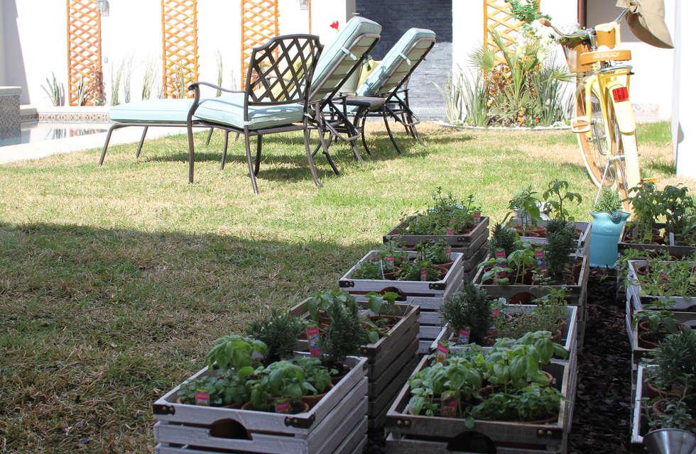 Jardines de estilo  por Lo Interior