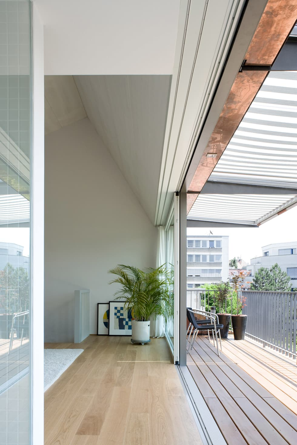 Tерраса в . Автор – Forsberg Architekten AG