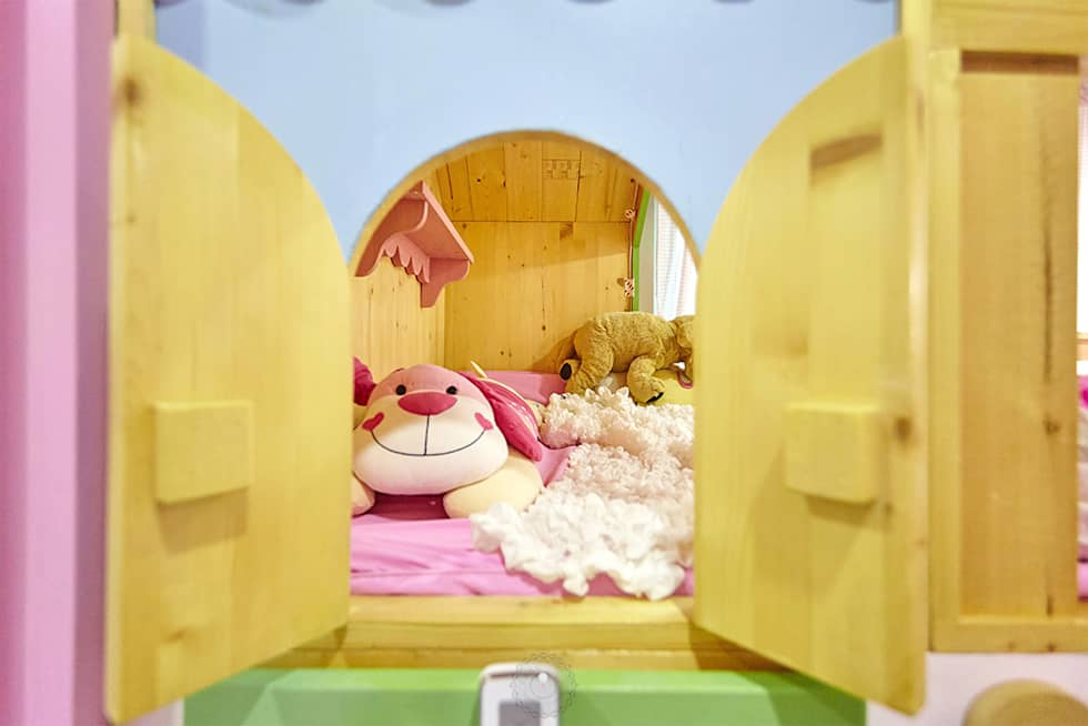 이층침대 미니창문: 제이앤예림design의  아이방