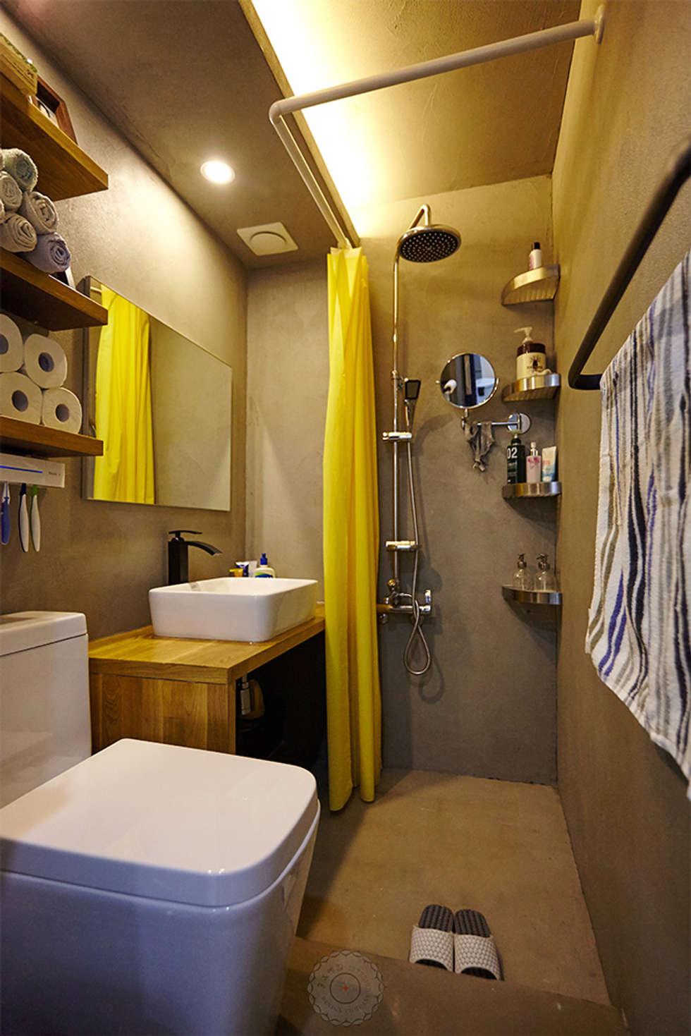 주욕실: 제이앤예림design의  화장실