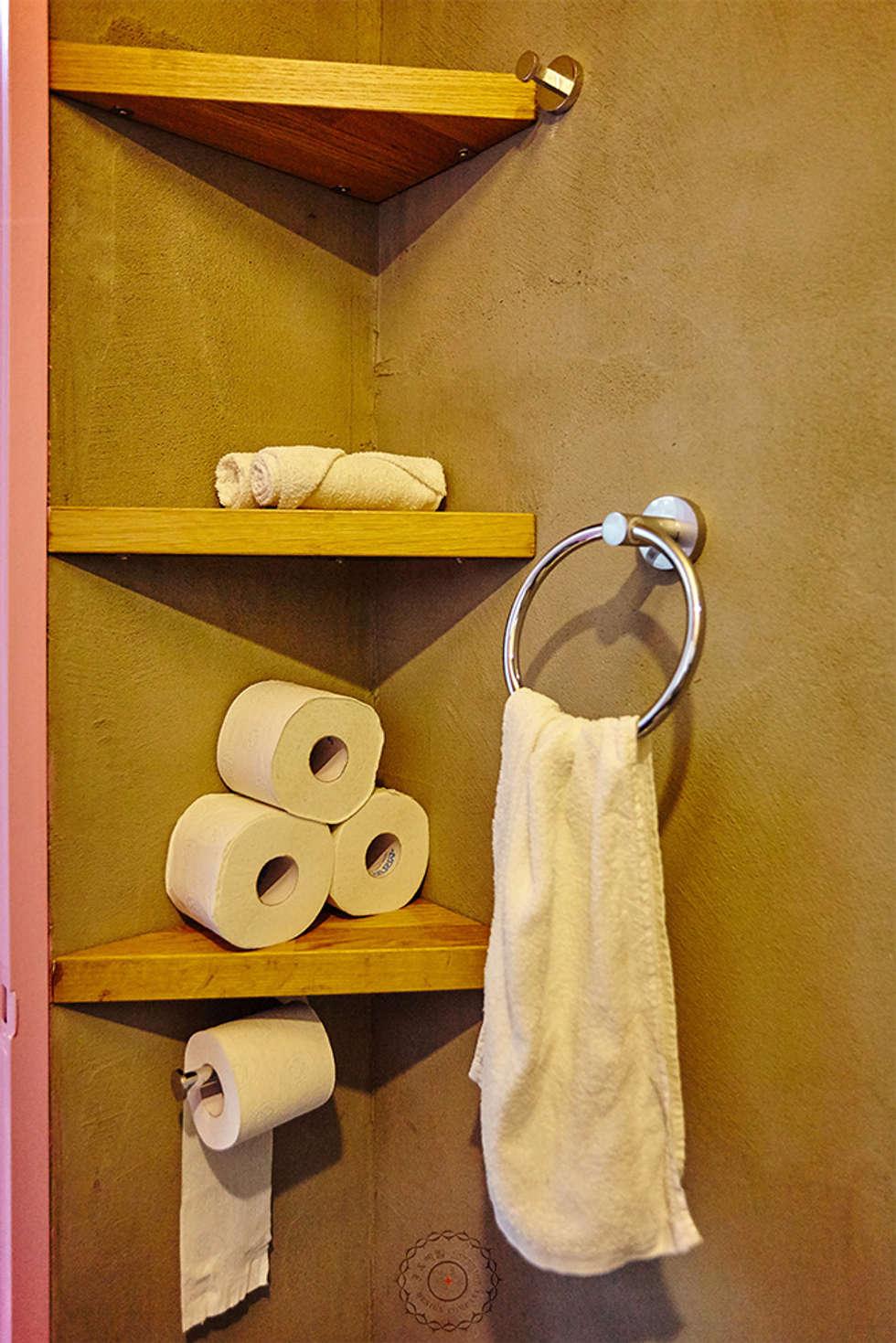 세컨욕실: 제이앤예림design의  화장실