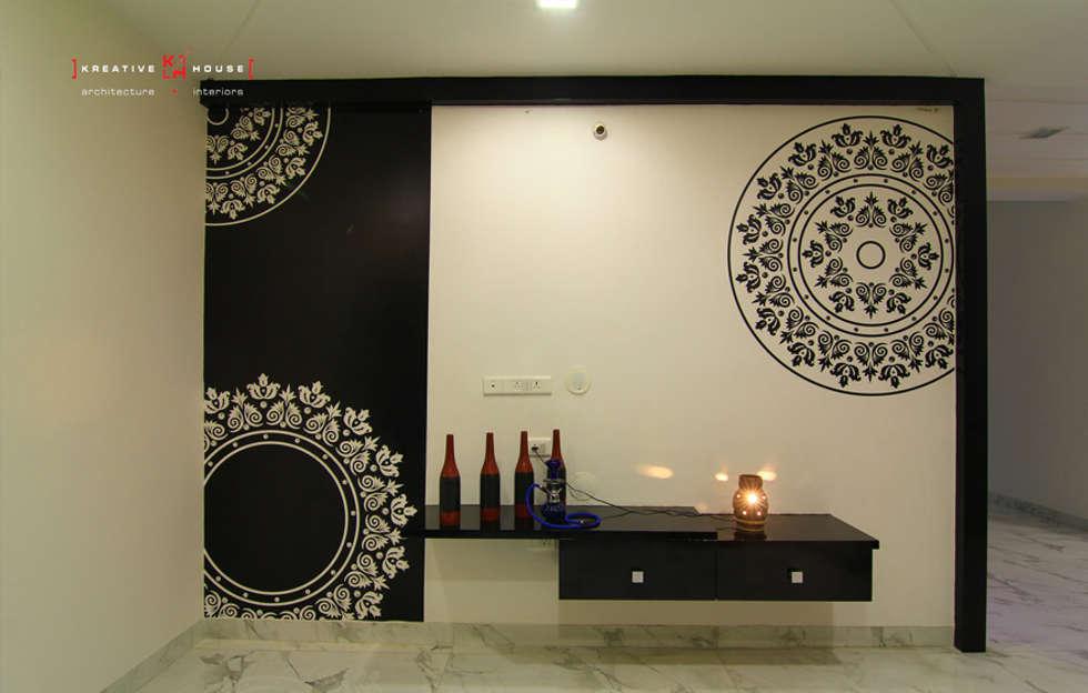 Living Room Designs Hyderabad modern living room photos: a triplex villa near suncity, hyderabad