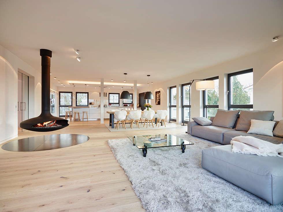 moderne wohnzimmer bilder: penthouse | homify - Innenarchitektur Design Modern Wohnzimmer
