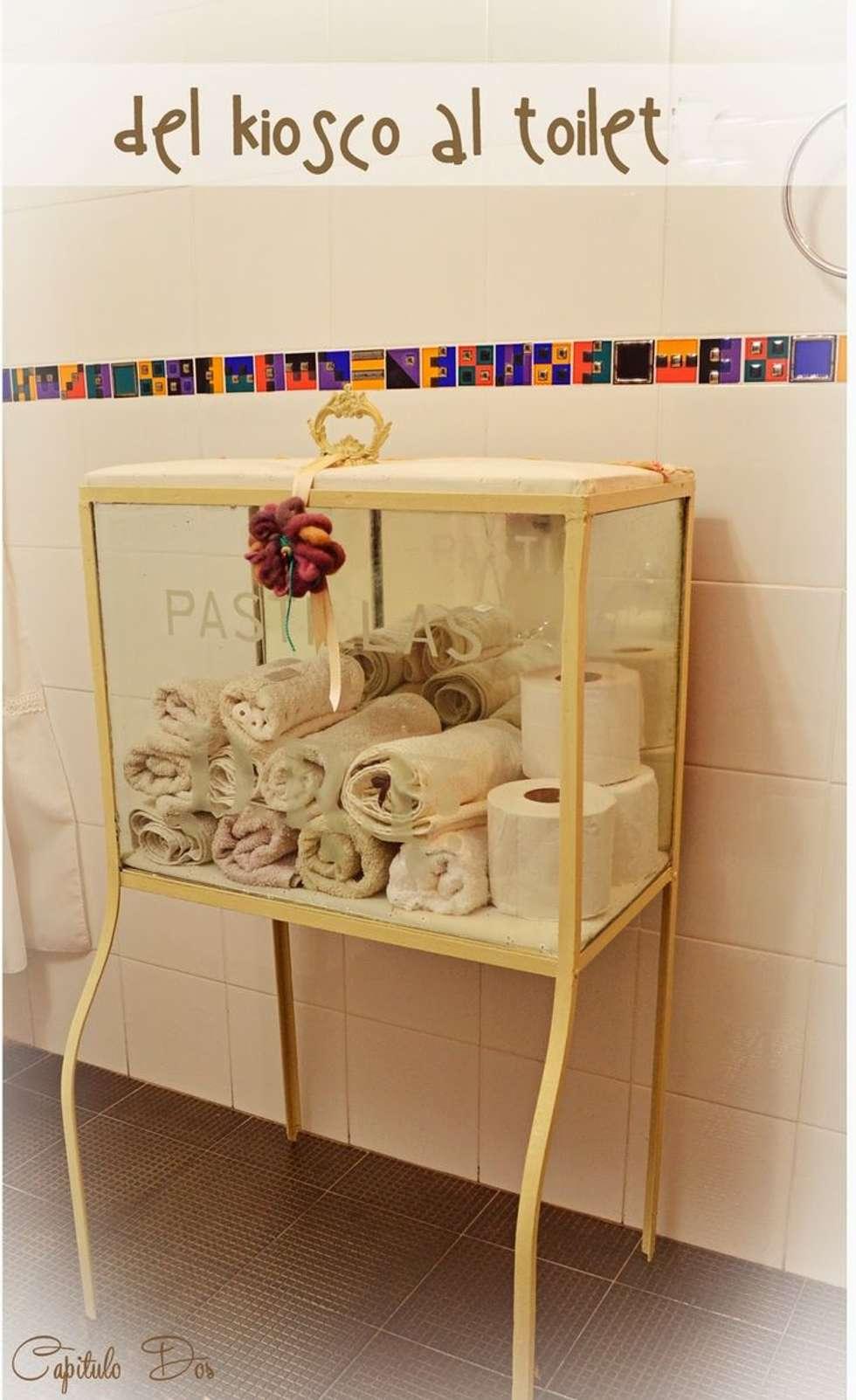 Ideas creativas para muebles tradicionales: Baños de estilo ecléctico por Capítulo Dos