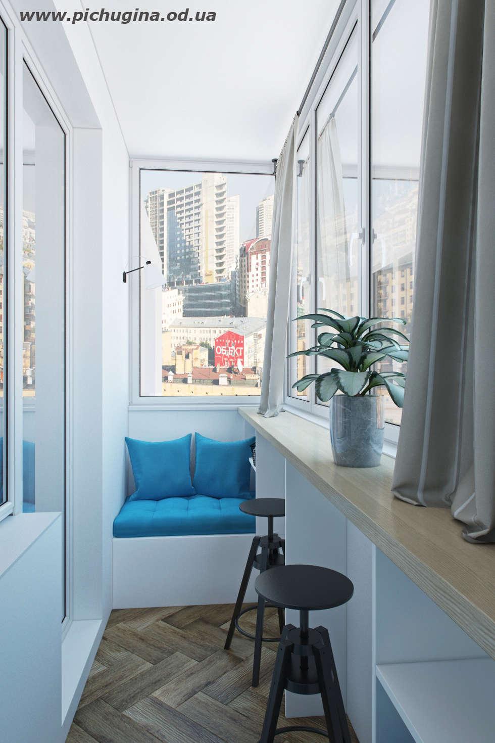 Дизайн интерьера балкона - фото и идеи оформления.