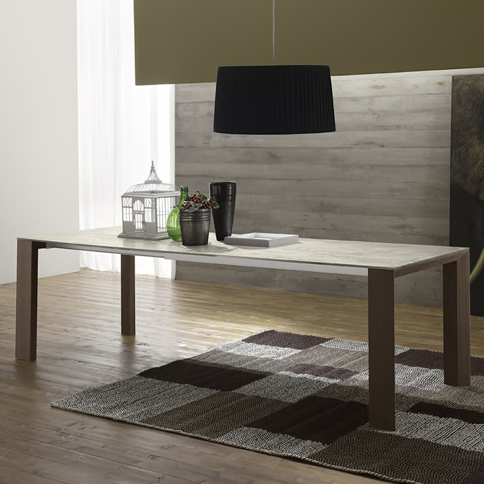 Id es de design d 39 int rieur et photos de r novation homify - Table ceramique italie ...
