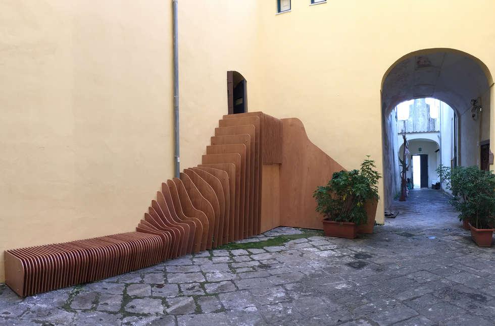 Italia, Campania, Salerno, Recupero, Restauro e Risanamento Conservativo del Complesso Monumentale di Santa Sofia: Sedi per eventi in stile  di ZOO architecture