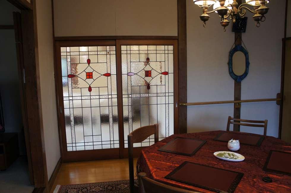 引き戸: タラ工房が手掛けた窓&ドアです。