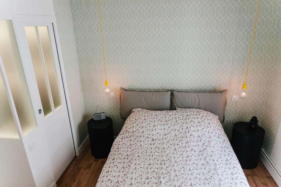 Chambre parentale: Chambre de style de style Moderne par Lise Compain