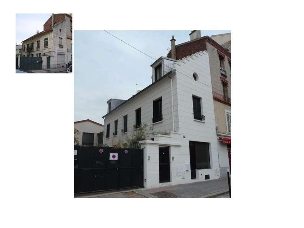 Extérieur: Maisons de style de style Classique par CAROLINE DUBAU