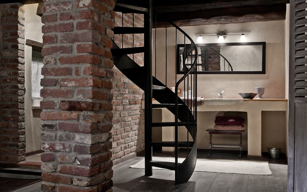 Camera Da Letto Mansardata Stile Rustico Moderno Internal Design : Idee arredamento casa interior design homify