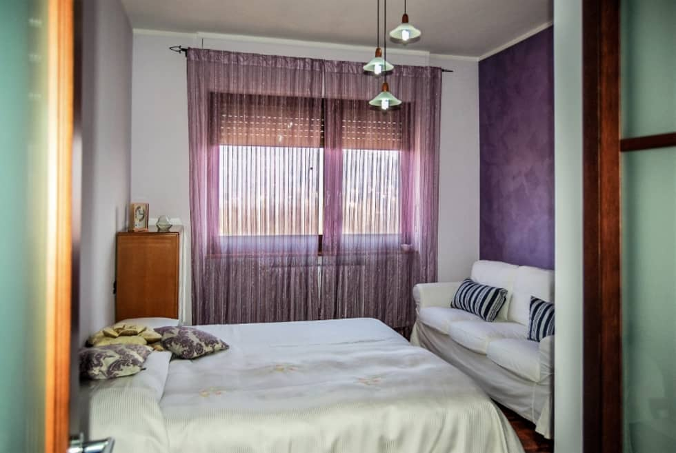 CAMERA DA LETTO: Camera da letto in stile in stile Moderno di ATELEON