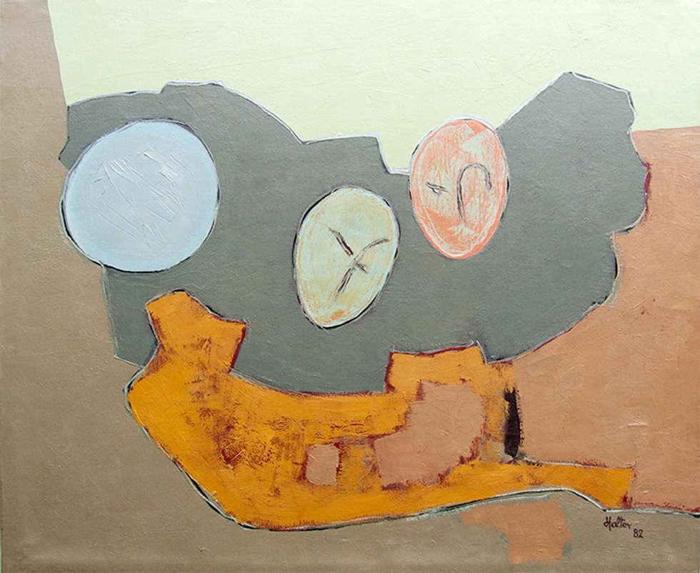 Masques, composition: Salon de style de style Moderne par ahgraph