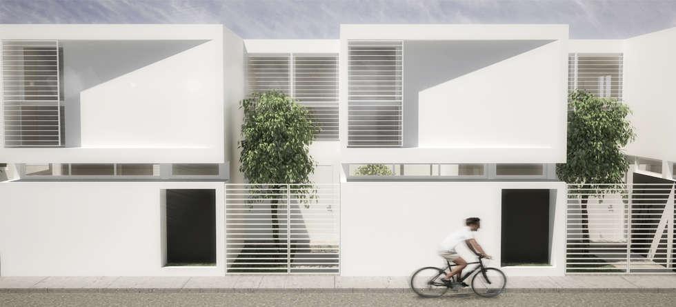 5 Casas: Casas de estilo minimalista por RRA Arquitectura
