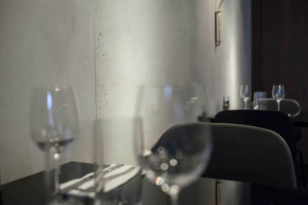 Little Apple Saintonge: Bars & clubs de style  par Concrete LCDA