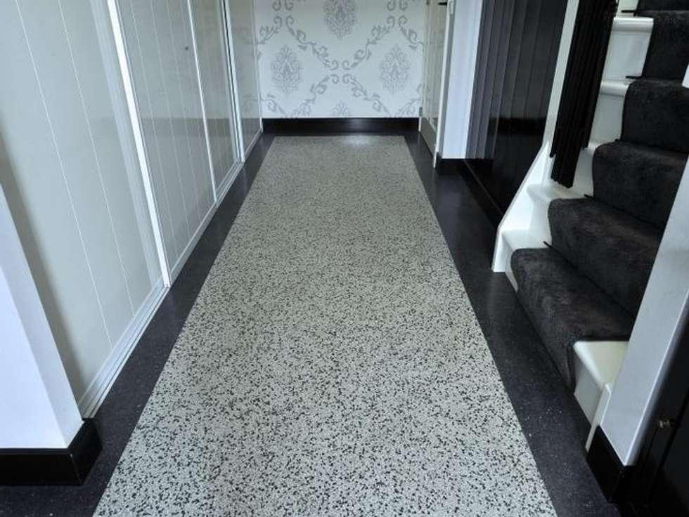 Terrazzo Tegels Badkamer : Terrazzo tegels badkamer trendy betonvloer badkamer amp terrazzo