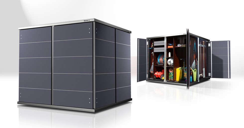Moderner Geräteschuppen wohnideen interior design einrichtungsideen bilder homify