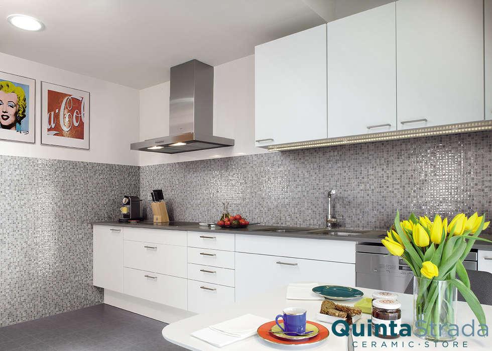 Quinta Strada - Ceramic Storeが手掛けたキッチン