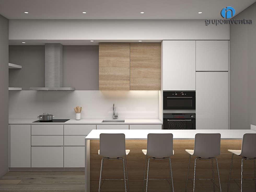 Fotos de decoraci n y dise o de interiores homify for Material cocina industrial