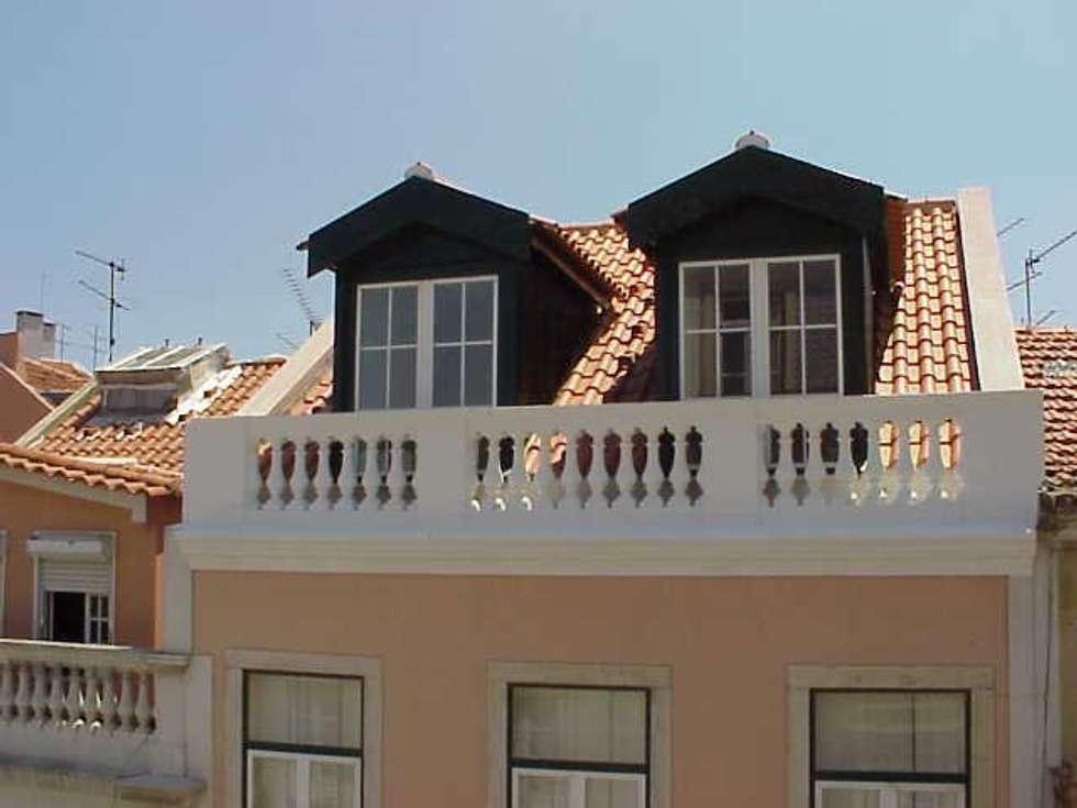 Projecto de Alterações Principe Real, Lisboa: Casas mediterrânicas por Paula Margarido - A link to balance