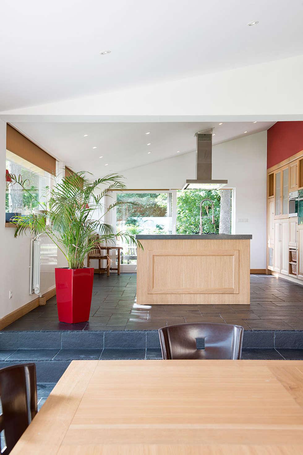 Extension de cuisine à Lentilly (69): Cuisine de style de style Moderne par réHome