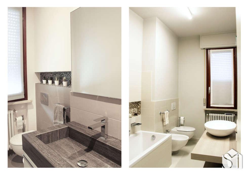 Idee arredamento casa interior design homify - Manutenzione straordinaria bagno ...