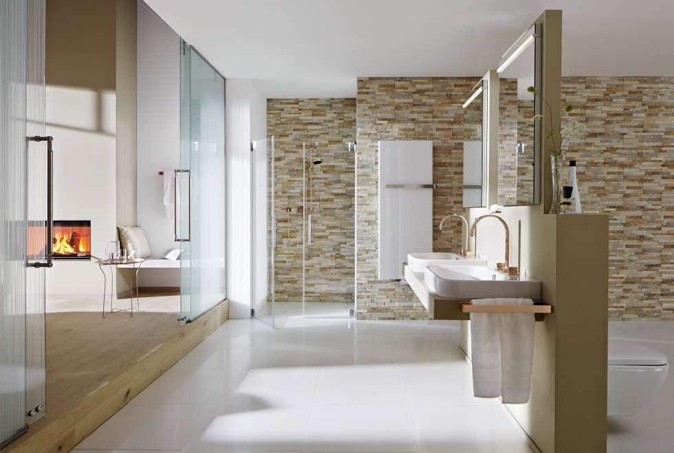 ห้องน้ำ by Rimini Baustoffe GmbH