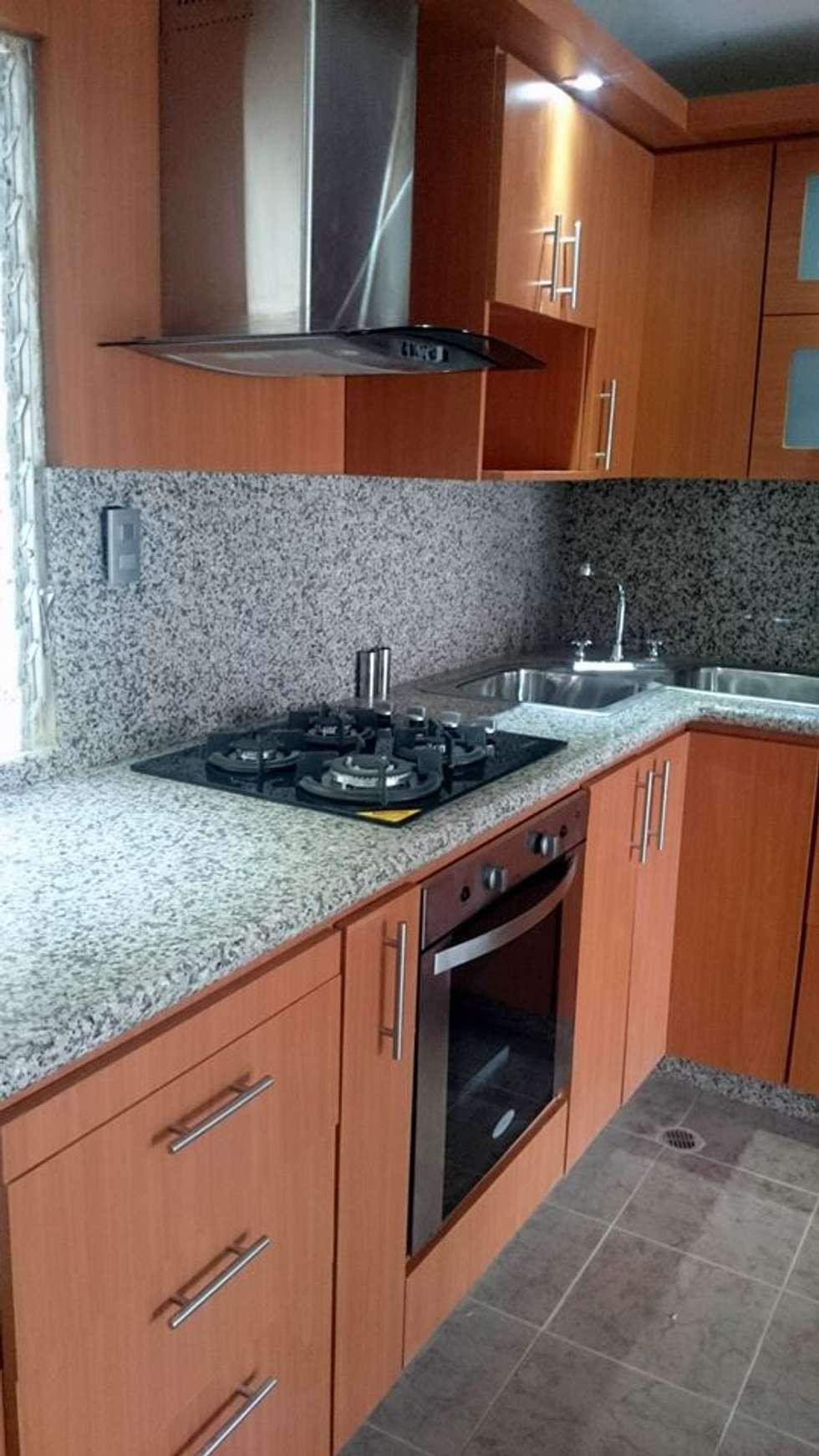 Cocinas De Estilo Moderno Por Andres Cocinas Y Marmol Homify - Cocinas-con-marmol