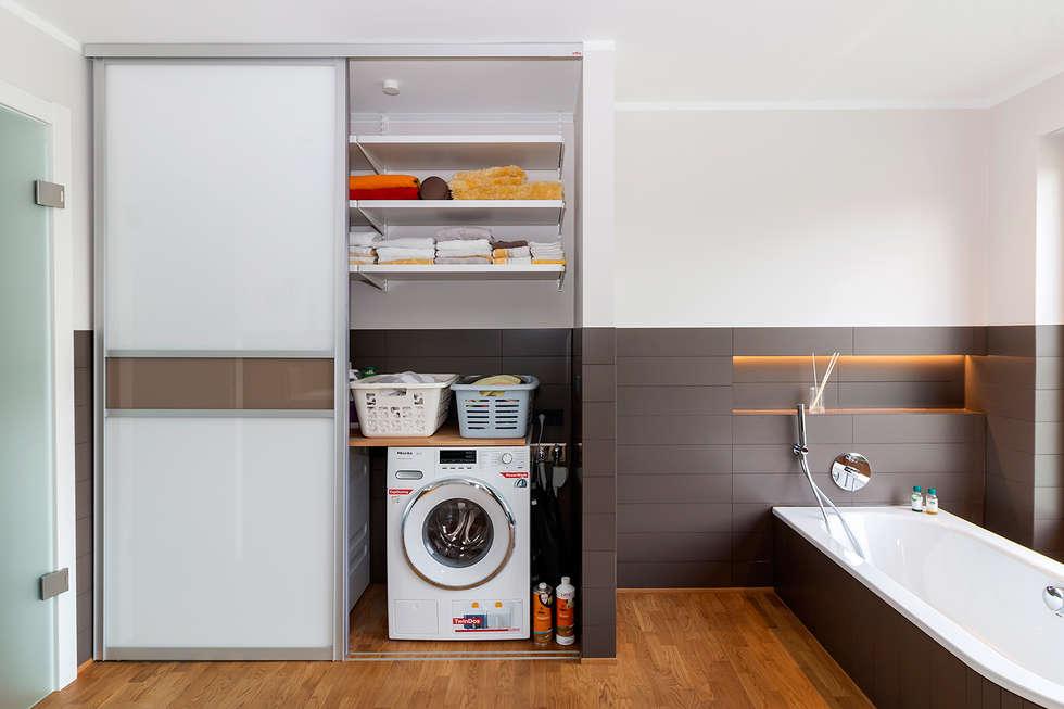 Ein Einbauschrank Im Badezimmer Sorgt Für Ordentlich Stauaum - Badezimmer einbauschrank