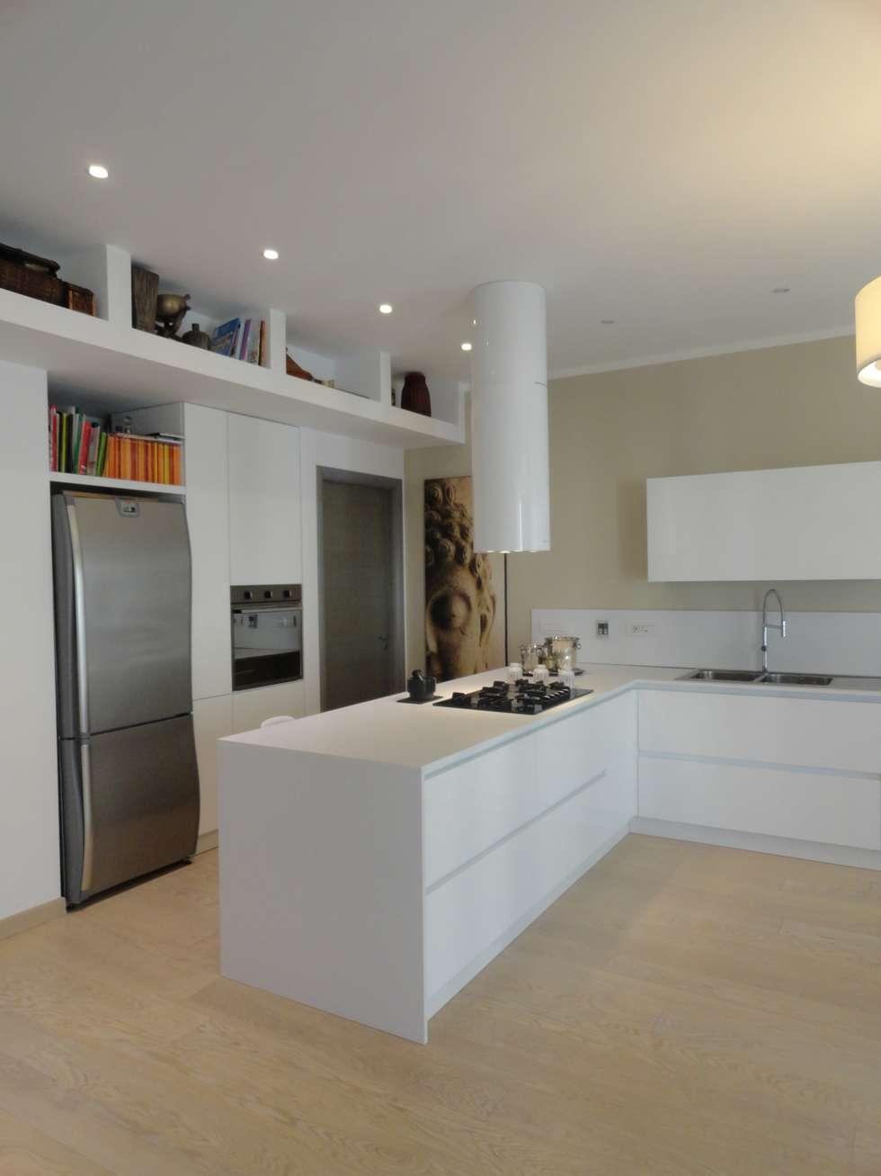Arredare il soffitto: Cucina in stile in stile Moderno di The Creative Apartment