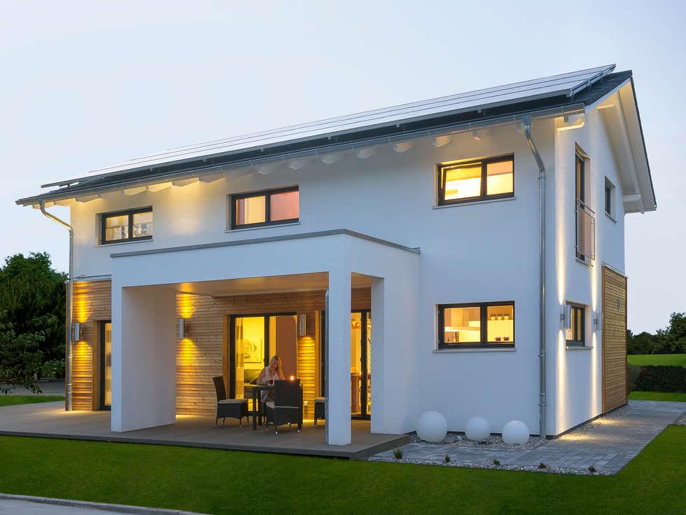 Wohnideen interior design einrichtungsideen bilder for Musterhaus modern