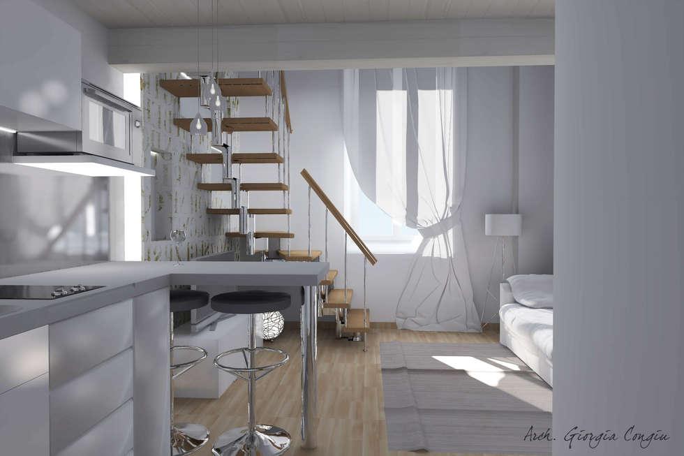 Idee arredamento casa interior design homify for Miniappartamento design