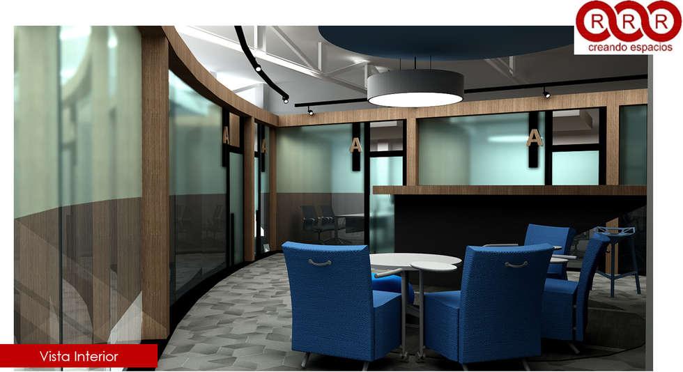 Cajas de Oficinas: Edificios de Oficinas de estilo  por Tres-r