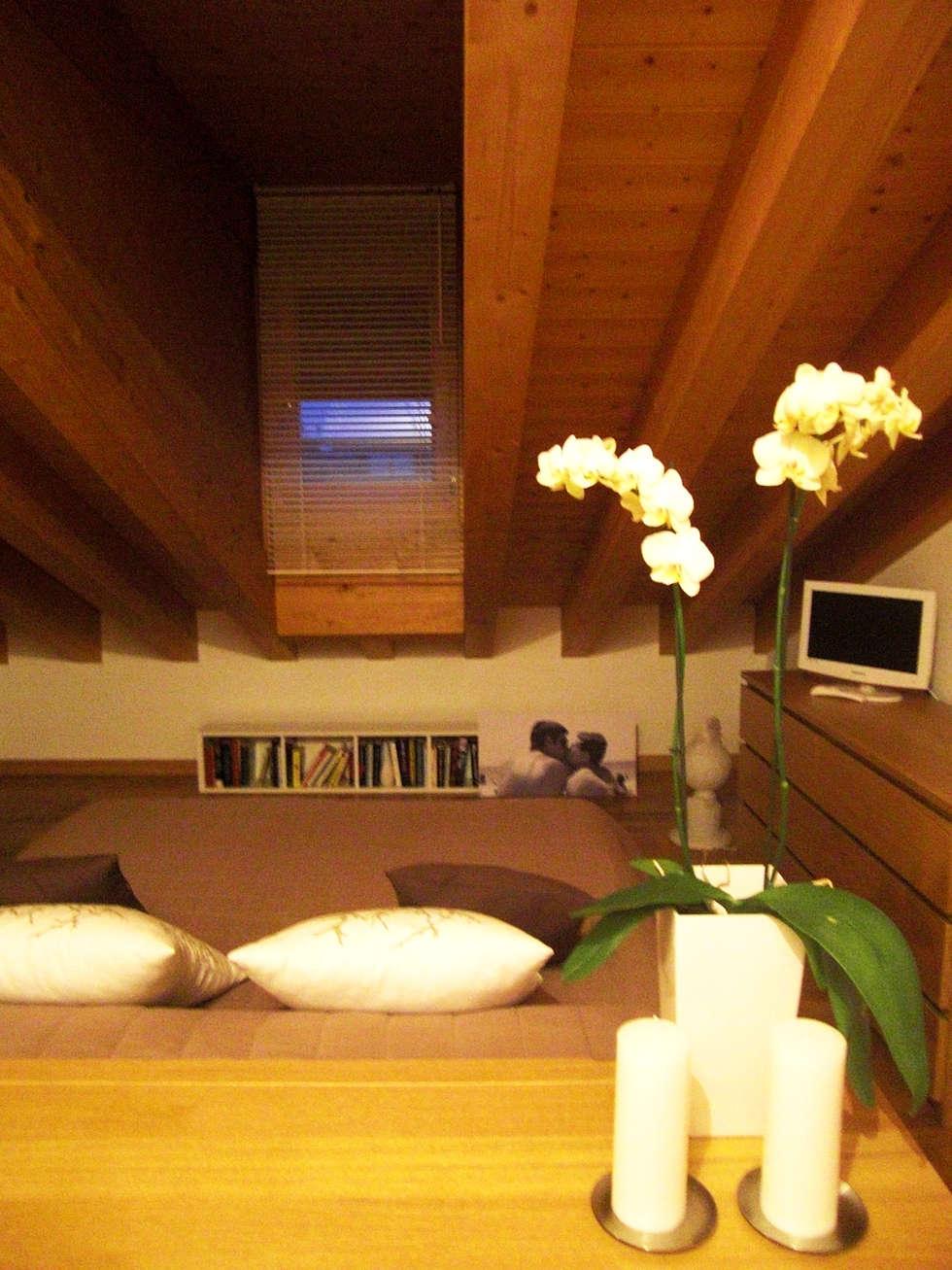 Stato dell'immobile a intervento concluso - Camera padronale: Camera da letto in stile in stile Moderno di VIQUADRO