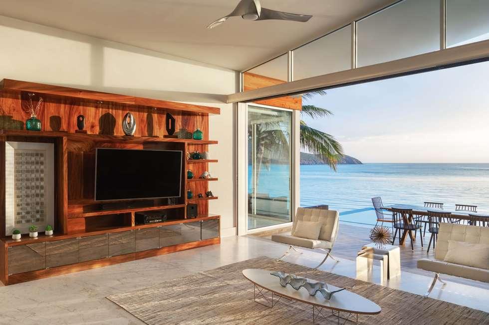 CASA MRE: Salas de estilo moderno por Imativa Arquitectos
