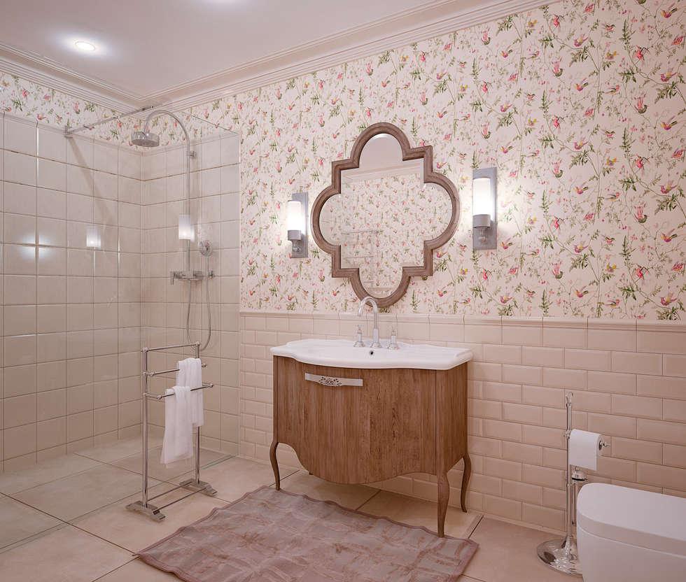 Baños de estilo ecléctico por Be In Art