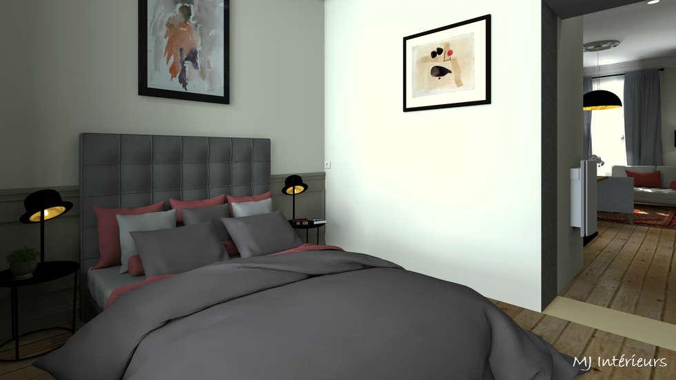 Petite chambre: Chambre de style de style Industriel par MJ Intérieurs