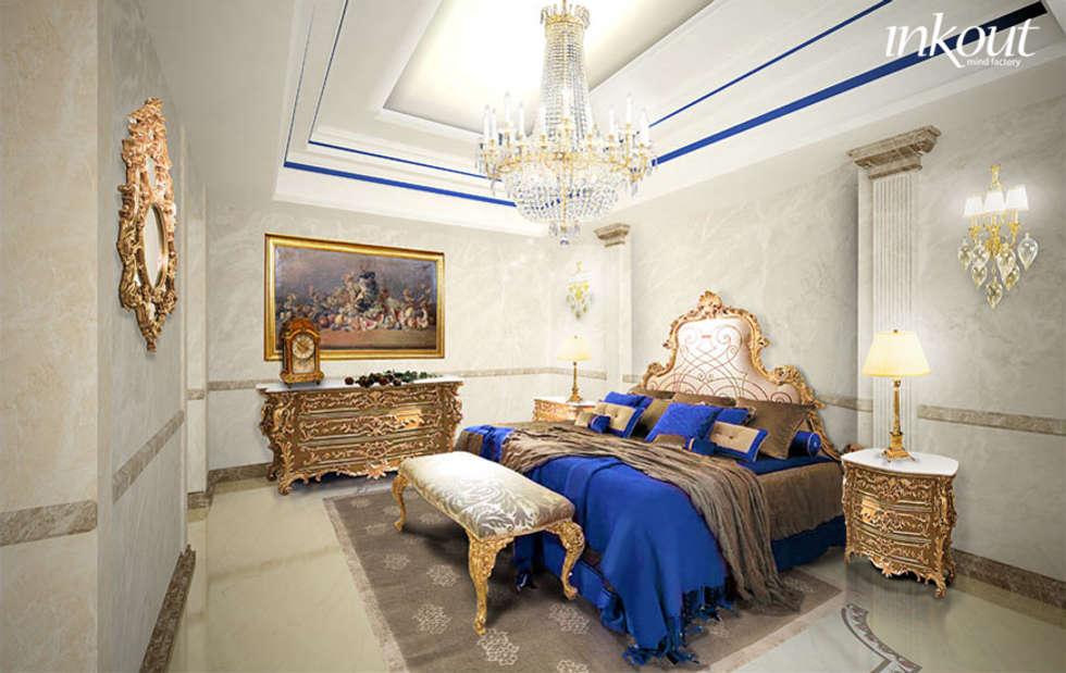 Bedroom: Camera da letto in stile in stile Classico di Inkout srl