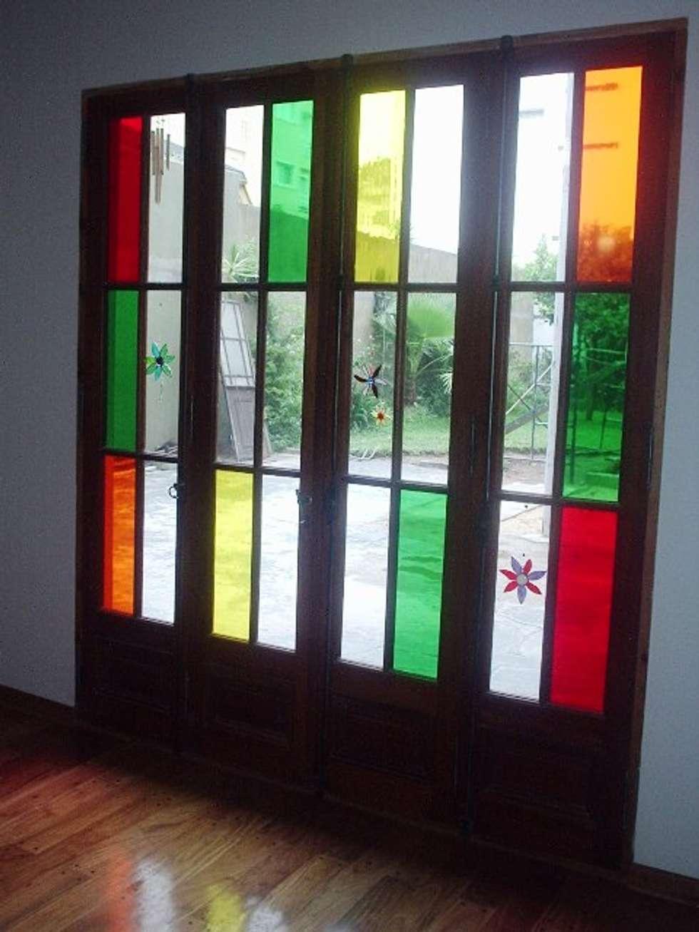Reforma Casa en Caballito C.A.B.A: Ventanas de estilo  por AyC Arquitectura