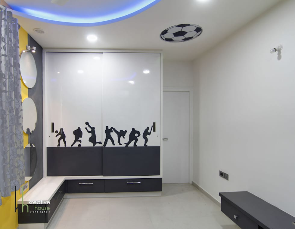 Children's Bed Room: modern Bedroom by KREATIVE HOUSE
