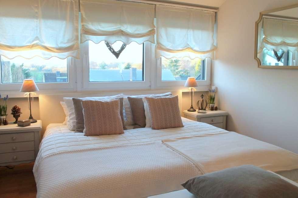 Romantisches schlafzimmer update: landhausstil schlafzimmer von me ...